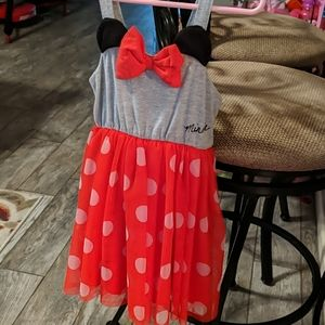 Minnie mouse Disney toddler dress
